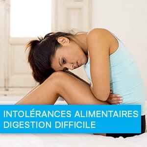 Intolérances alimentaires - Digestion difficile