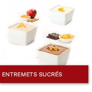 Entremets et crèmes desserts