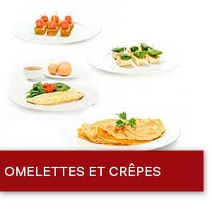 Omelettes et Crêpes